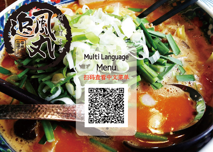 Multi Language Menu